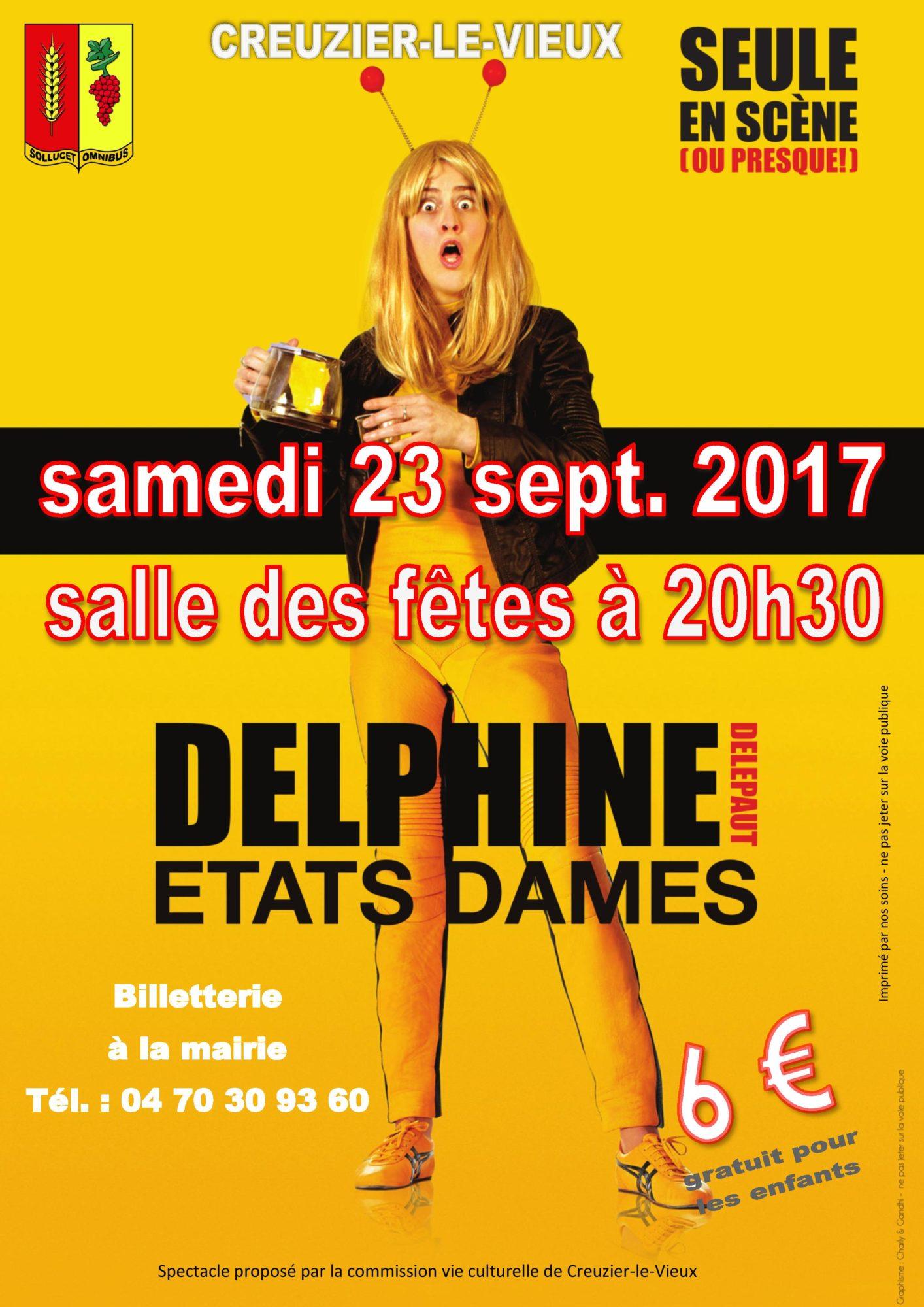 affiche - Delphine DELEPAUT