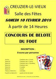 BELOTE 2018 - ACCV FOOT