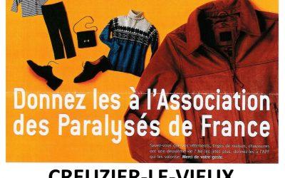 Collecte de textile