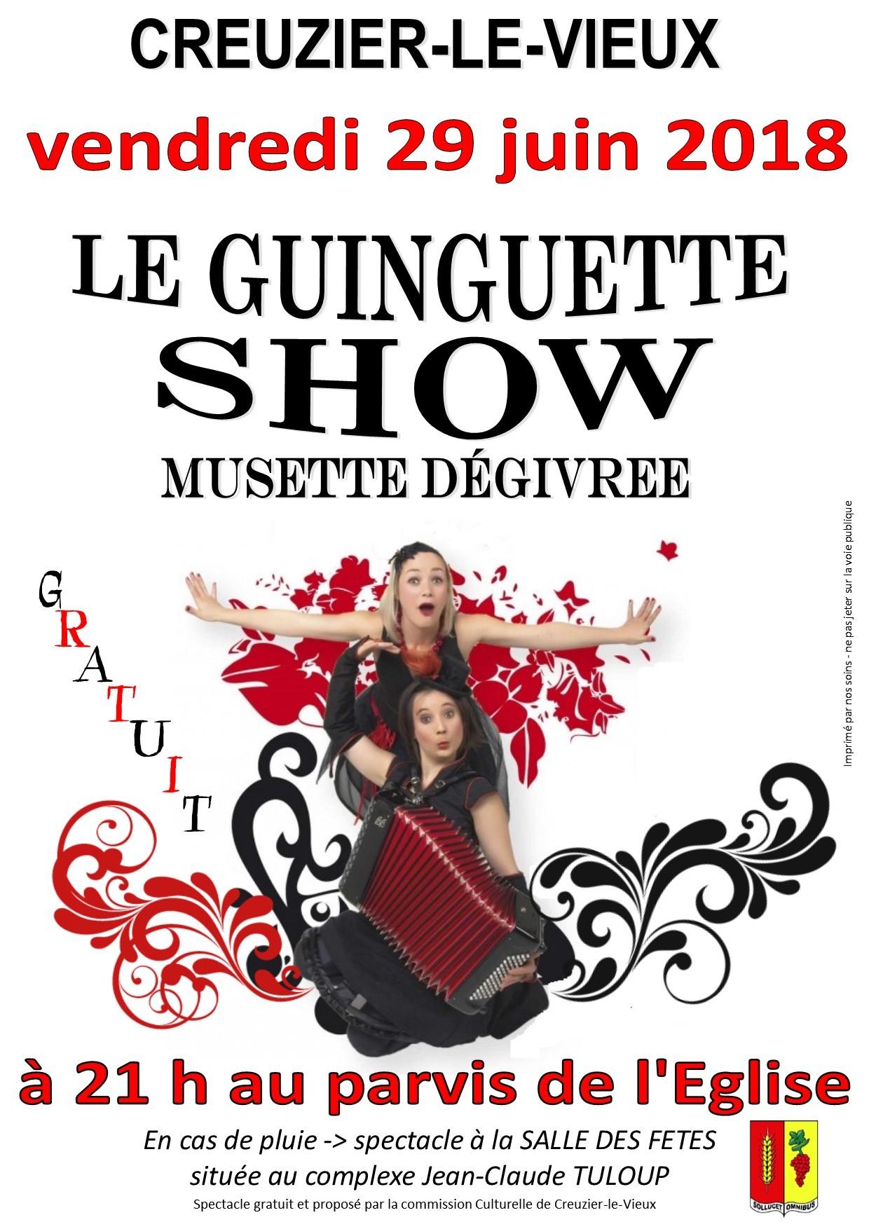 le guinguette show - juin 2018