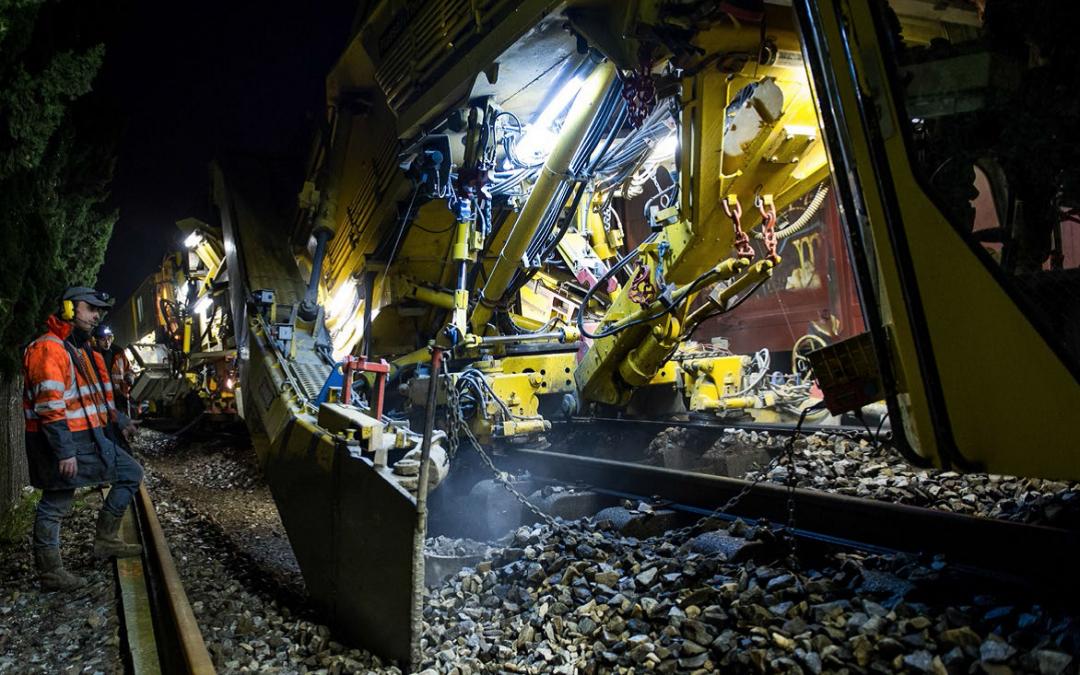 Rénovation des voies ferrées
