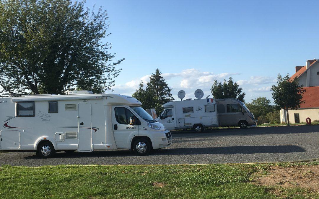 Aire des camping-cars déplacée