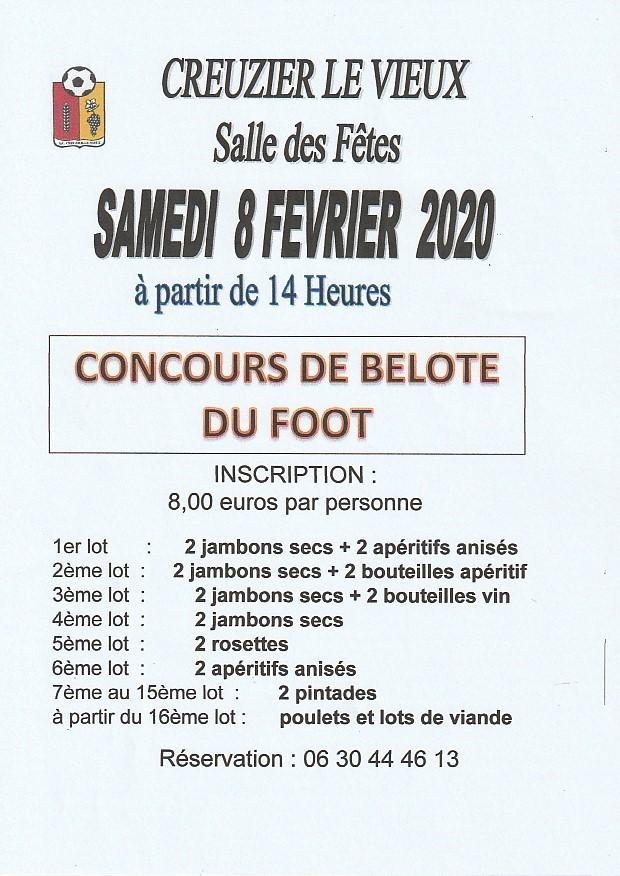 belote 8 fevrier 2020