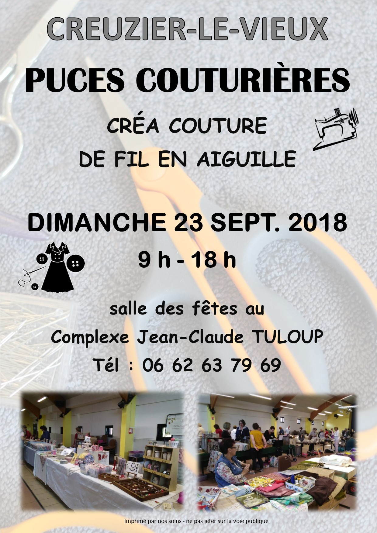 PUCES COUTURIERES - SEPT