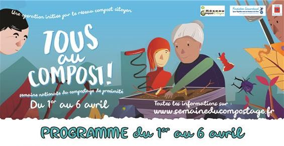 Semaine nationale du compostage