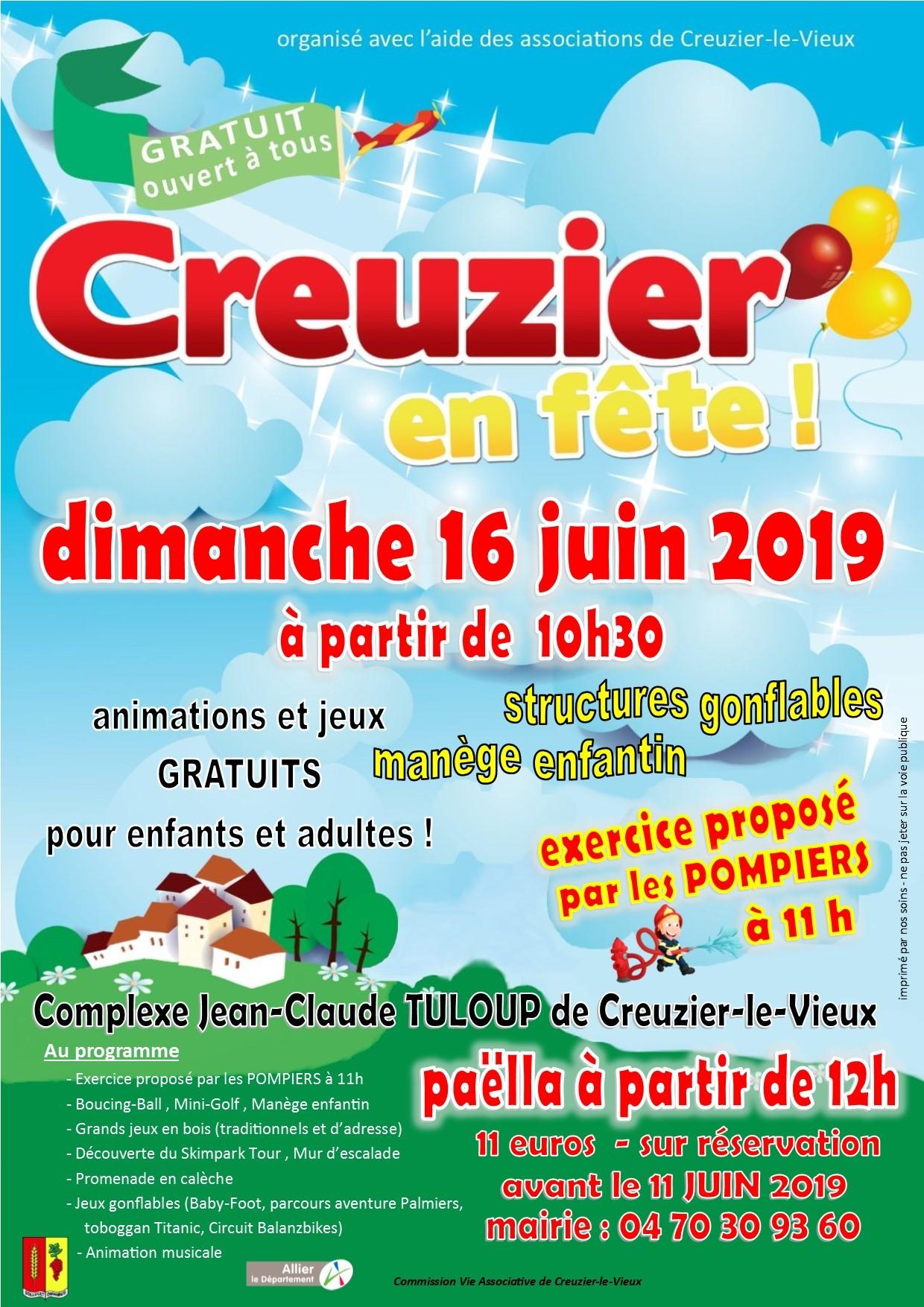 CREUZIER EN FETE - 16 juin 2019