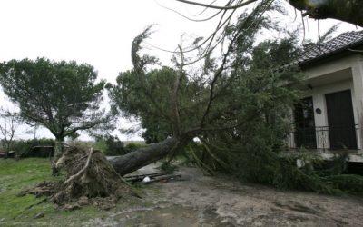 Déclaration de dégâts matériels suite aux orages