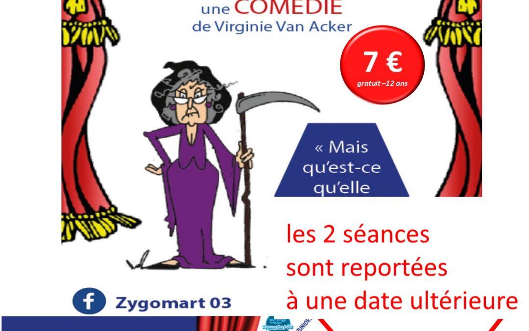 Théâtre Zygom'Art REPORTE