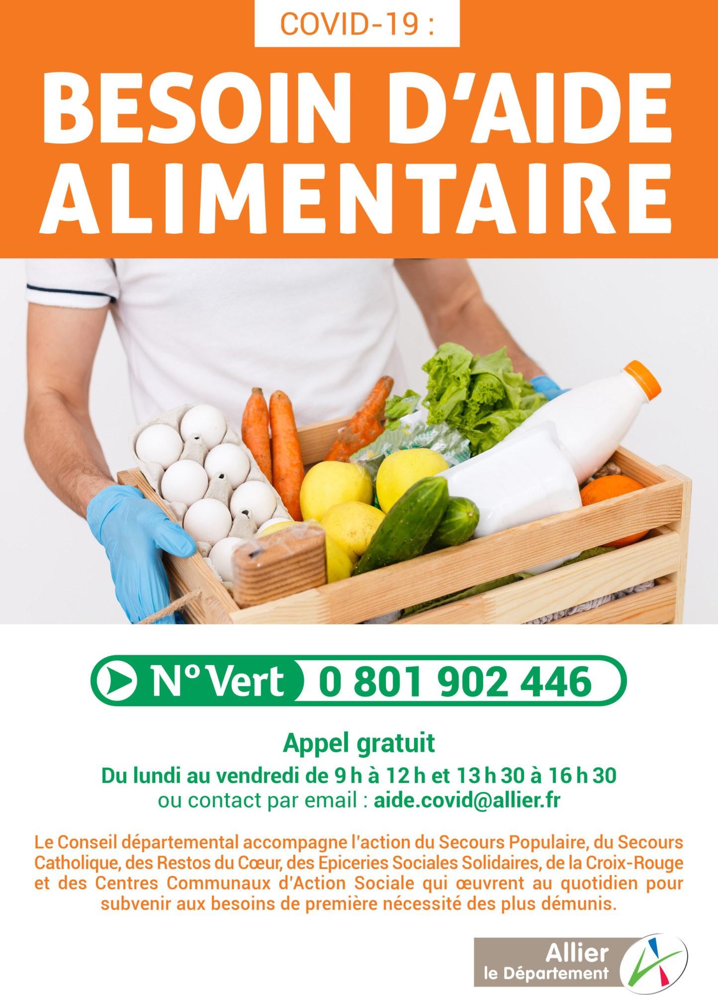 Affiche_A4_Numéro Vert_Aide_alimentaire
