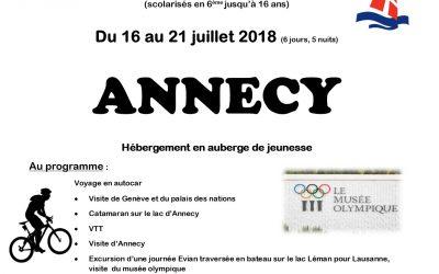 Voyage à Annecy