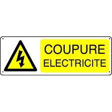 Coupure électricité jeudi 23 juillet de 9h30 à 10h30