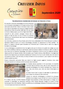 Bulletin septembre 2020