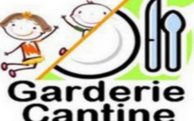 Informations :Cantine et Garderie pour le  1 et 2 septembre 2020