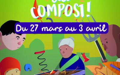 SICTOM : Tous au compost du 27 mars au 3 avril 2021